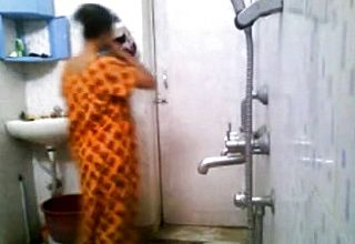 Indian School Stunner In Hostel shower