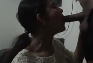 Desi Girl Gives Blowjob And Has Doggystyle Sex At Night