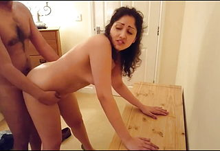 Indain abuse Young Secretary