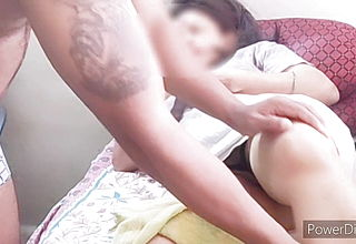 Indian stepson Gives injured Mom Sponge Bath And Pleasure
