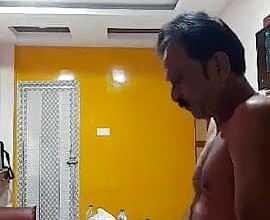 My dad fucking in Hotel with Maid